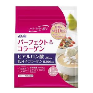 Коллаген Asahi с гиалуроновой кислотой, коэнзимом Q10 и лактобактериями