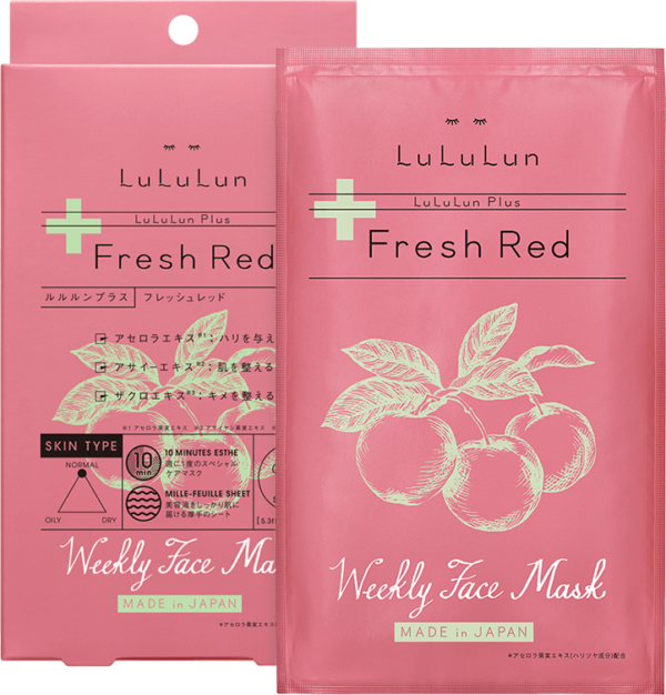 Lululun Plus Fresh Red