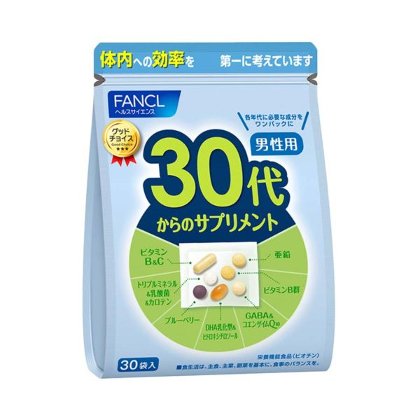 Fancl 30+ man 1